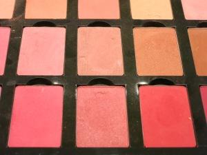 Varios tonos de blush