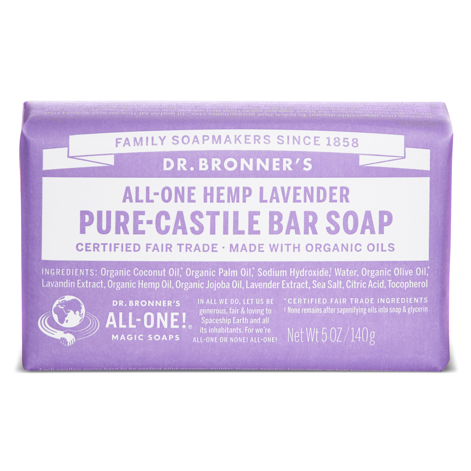 Porque Mi Baño Huele Feo:Jabón puro de Castilla, de Dr Bronner's